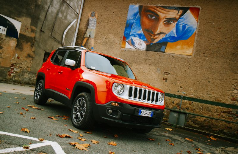 Jeep Renegade - тест-драйв в Италии