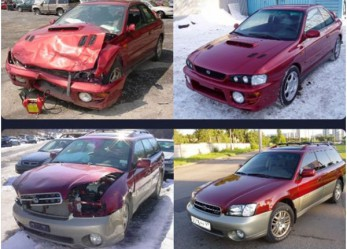 СТО: покраска и кузовной ремонт