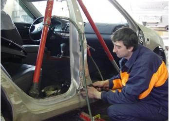 Гидравлический кузовной ремонт