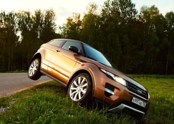 Range Rover Evoque: Спортивное купе по-английски