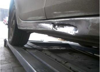 Кузовной ремонт порогов