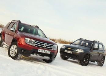 Экспресс-тест: Chevrolet Niva против Renault Duster