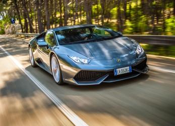Новый Huracan от Lamborghini