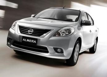 На Nissan Almera цена достойная
