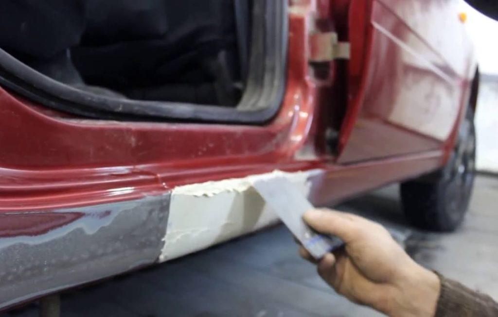 Устранение коррозии на кузове: 4 способа механической очистки