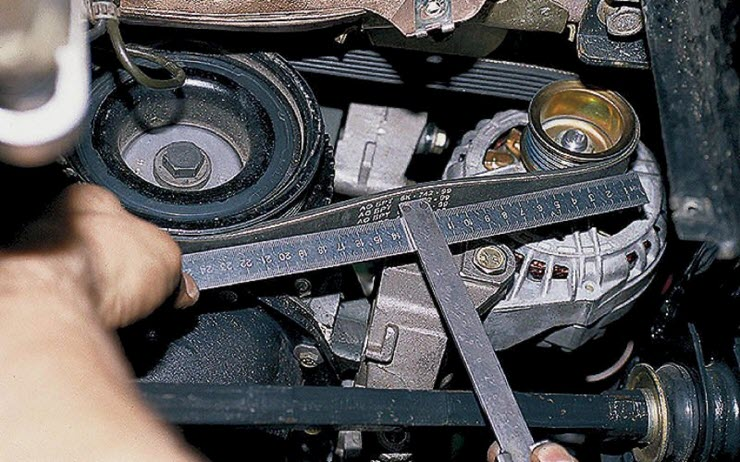 Как правильно отрегулировать ремень генератора автомобиля: пошаговая инструкция