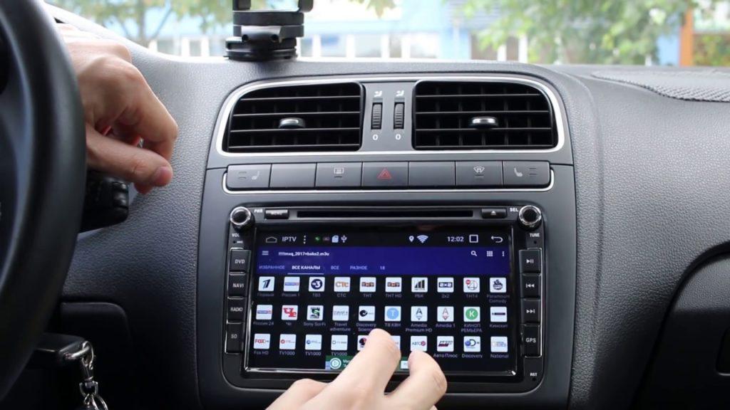 Автомагнитола для Volkswagen Polo 7