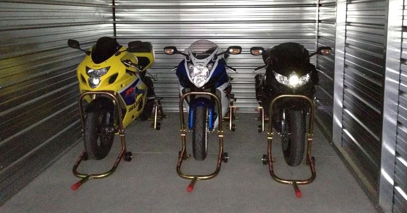 Как хранить мотоцикл по окончании мотосезона