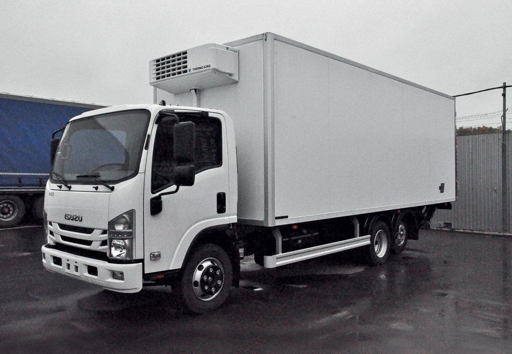 Особенности и характеристики изотермических фургонов (рефрижераторов) на базе шасси ISUZU FORWARD