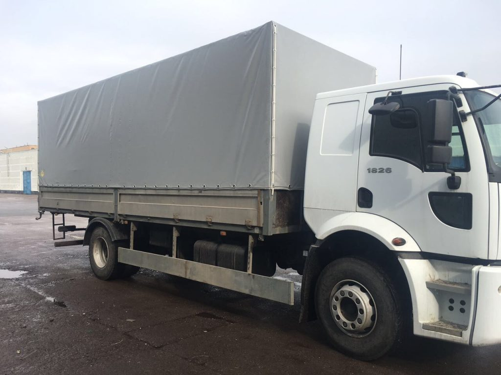 Тенты на грузовики - профессиональная защита грузов