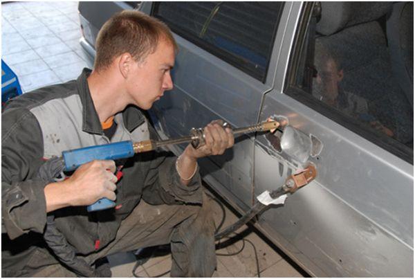 Хороший кузовной ремонт - фото в мастерской