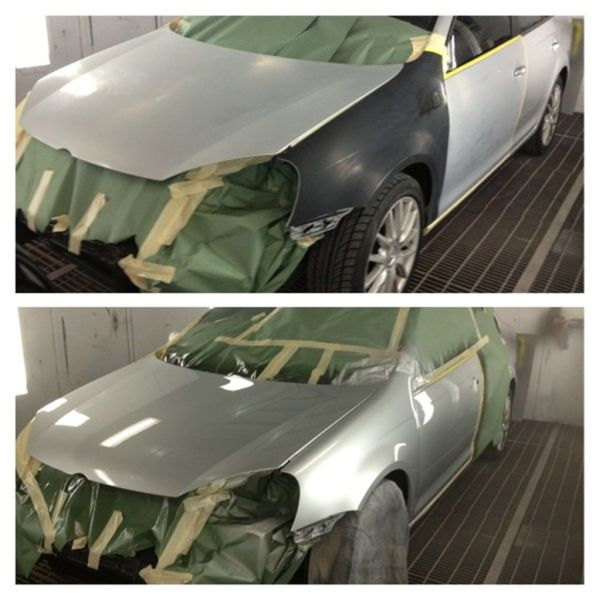 Хороший кузовной ремонт: фото до и после