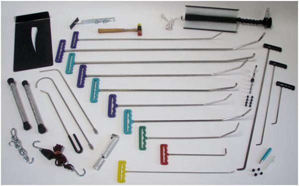 Инструменты для беспокрасочного ремонта кузова