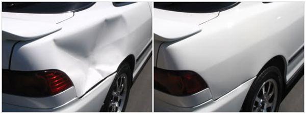 Где лучше делать кузовной ремонт в Москве: фото до и после