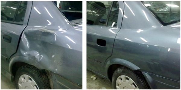 Кузовной ремонт: фото до и после