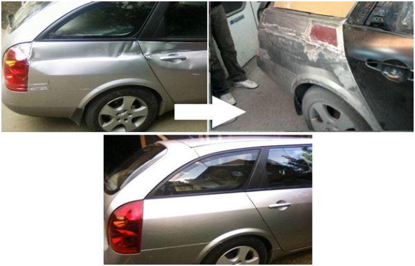 Сложный кузовной ремонт: фото до и после ремонта авто