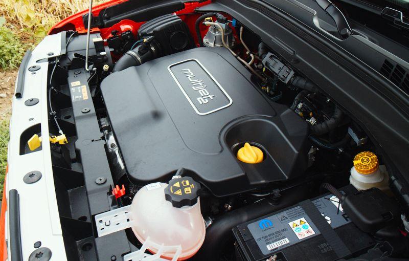 Jeep Renegade: фото дизельного двигателя объемом 2 л