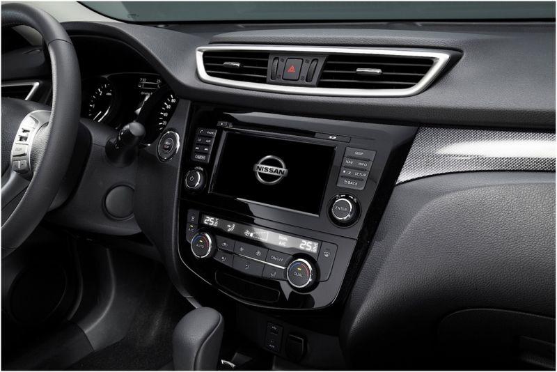 Тест-драйв Nissan X-Trail 2015: фото центральной панели