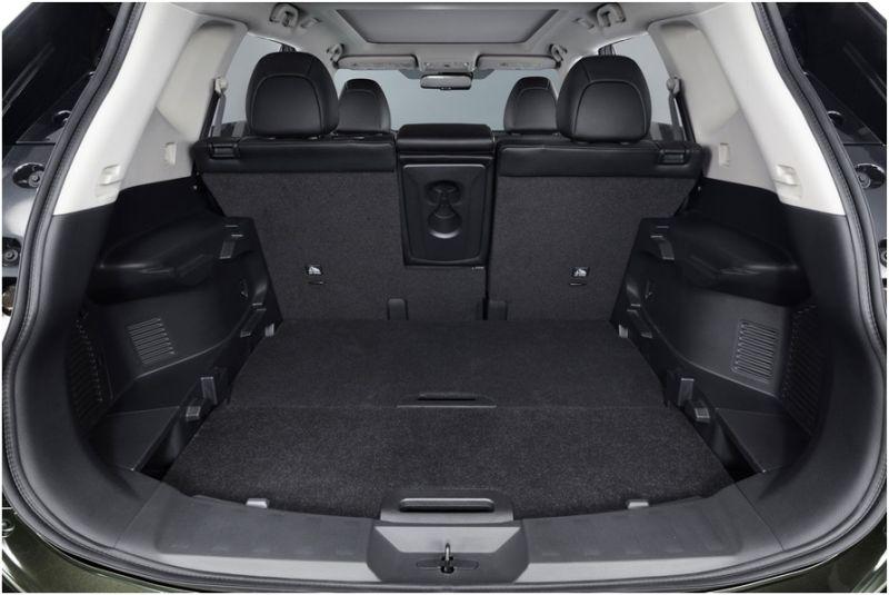 Тест-драйв Nissan X-Trail 2015: фото пространства багажника