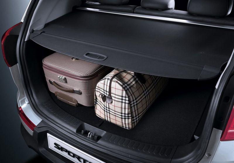 Kia Sportage рестайлинг - фото открытого багажника