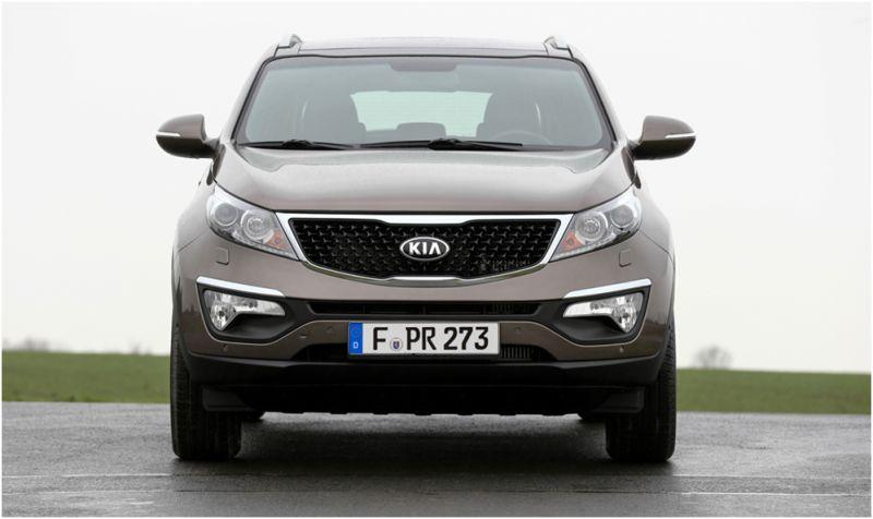 Сравнение Kia Sportage и Hyundai ix35: на фото Kia Sportage