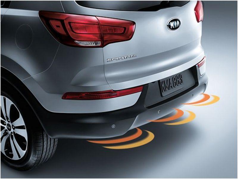 Сравнение Kia Sportage и Hyundai ix35: на фото задний бампер Киа Спортейдж
