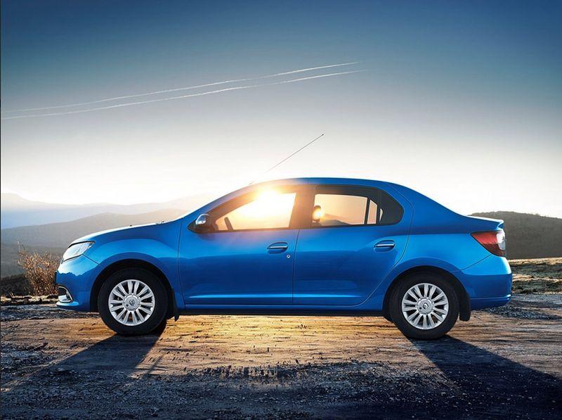 Диагностика ошибок Renault Logan: фото авто сбоку