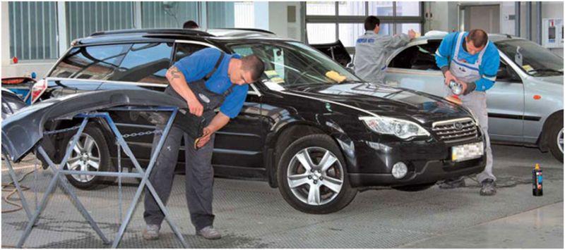 Кузовной ремонт автомобиля без покраски