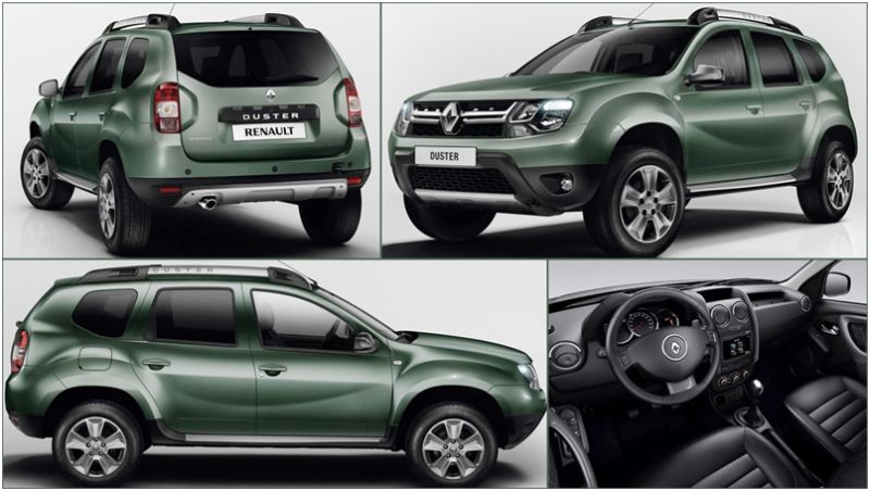 Renault Duster - фото новой версии