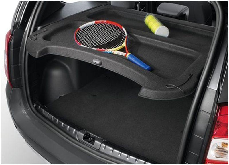Фото вместительного багажника Dacia Duster