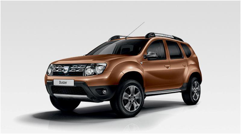 На фото новая версия Dacia Duster