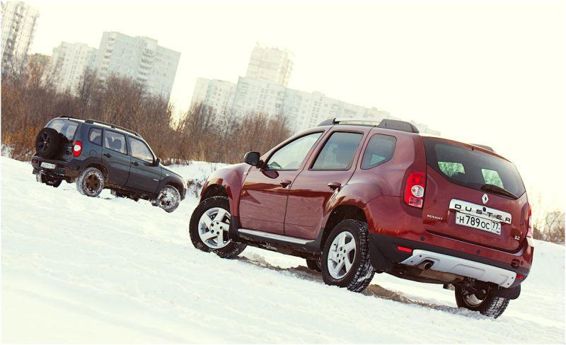 Chevrolet Niva против Renault Duster - обзор