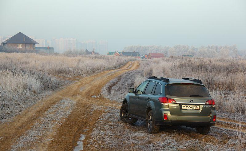 Subaru Outback - тест драйв