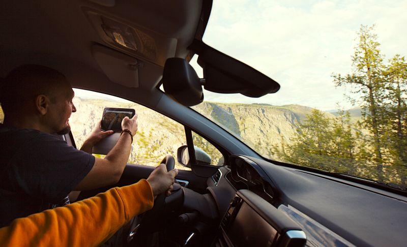 Peugeot 2008: фото на дорогах Горного Алтая