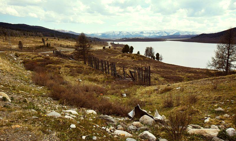 Путешествие с Peugeot 2008: на фото озеро Узункёль