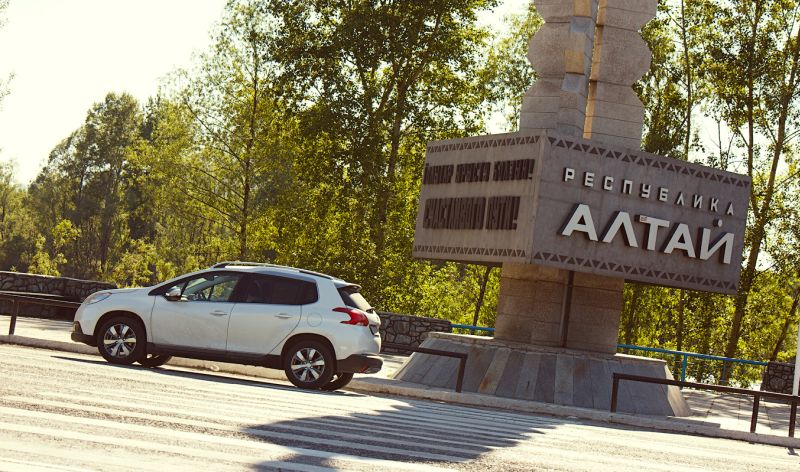 Peugeot 2008 штурмует горные дороги Алтая