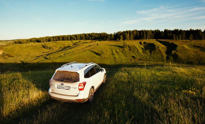 Практичный и комфортный Subaru Forester XT