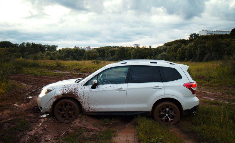 Subaru Forester XT тест драйв