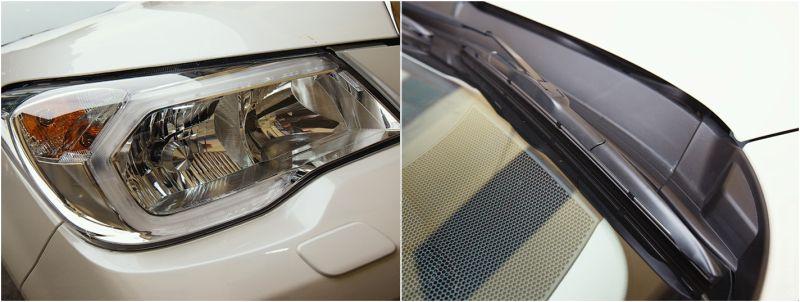 Subaru Forester XT: на фото рефлекторные фары с ксеноном и щетки стеклоочистителей