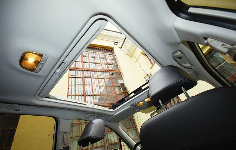Subaru Forester XT: на фото сдвижной люк