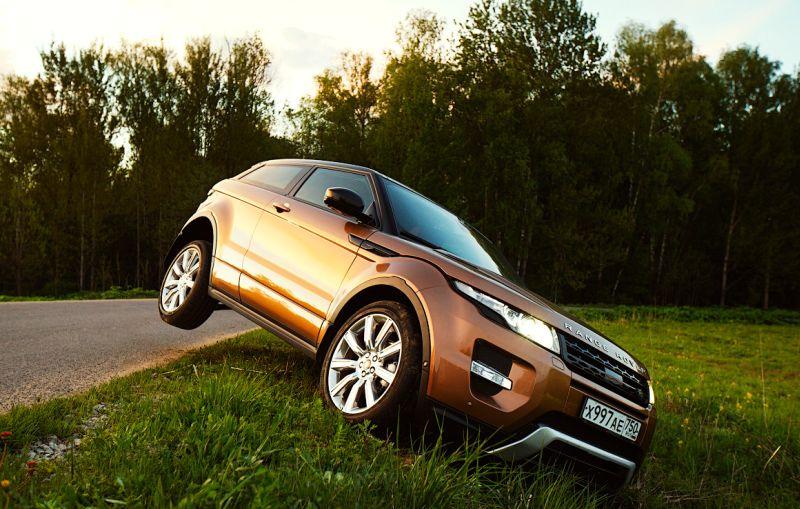 Range Rover Evoque: тест драйв