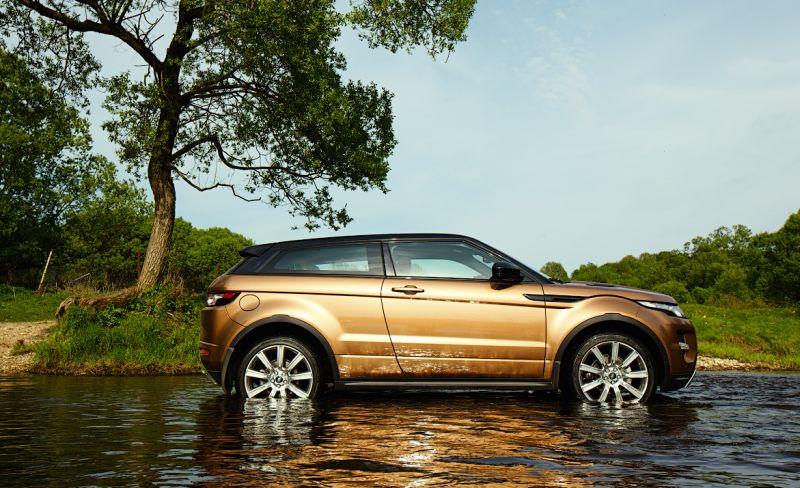 Range Rover Evoque с 9ти ступенчатой коробкой автомат