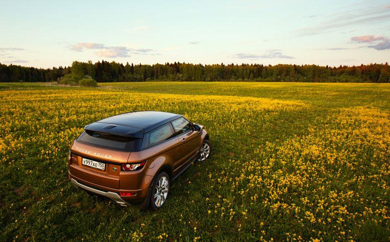 Range Rover Evoque: фото вне асфальта