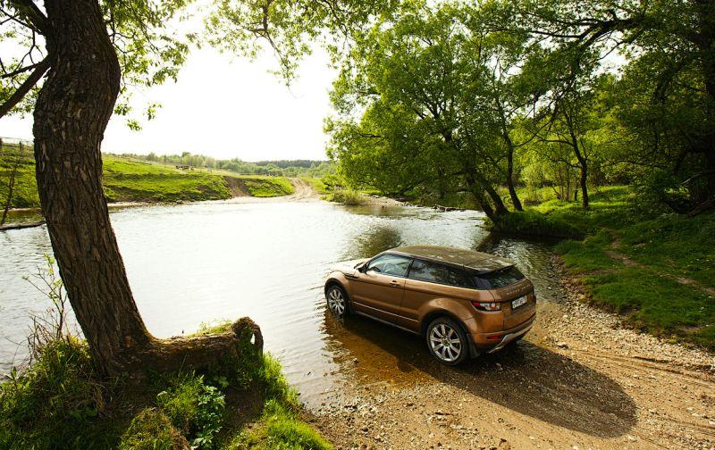 Фото двухдверного Range Rover Evoque
