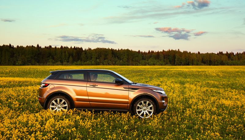 Range Rover Evoque: имиджевый автомобиль