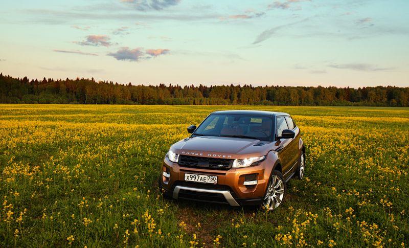 Range Rover Evoque: фото вне дороги