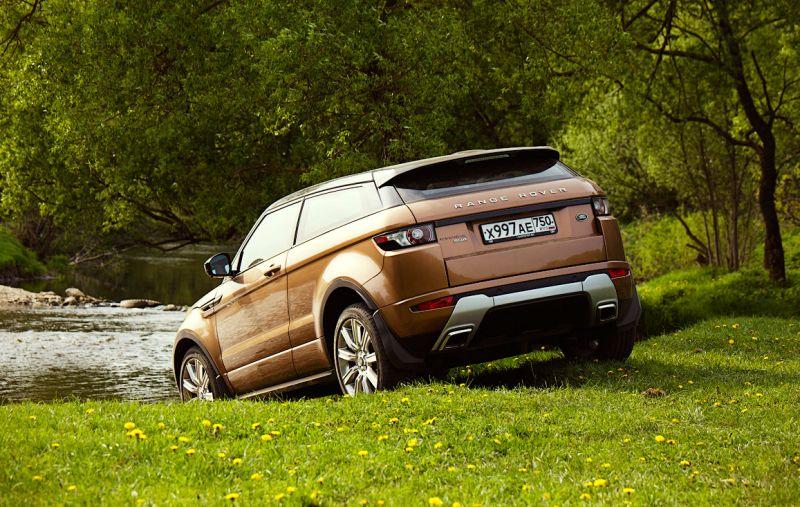 Range Rover Evoque - полноприводное спортивное купе