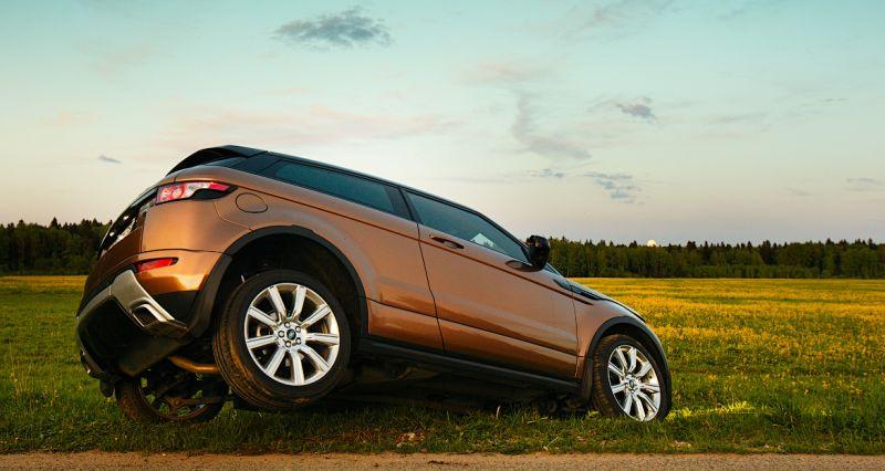 Range Rover Evoque: фото в кувете