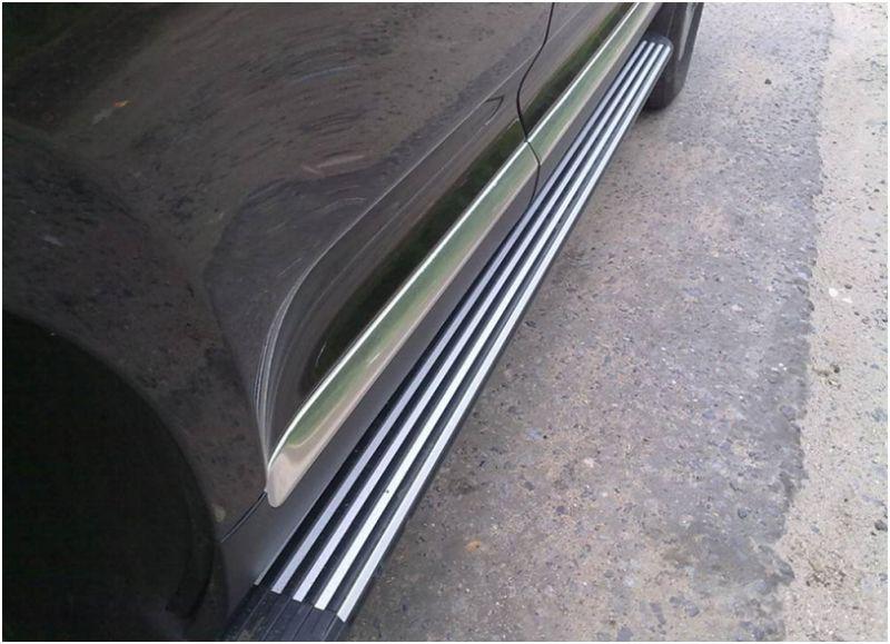 Кузовной ремонт порогов - съёмный порог на новой иномарке