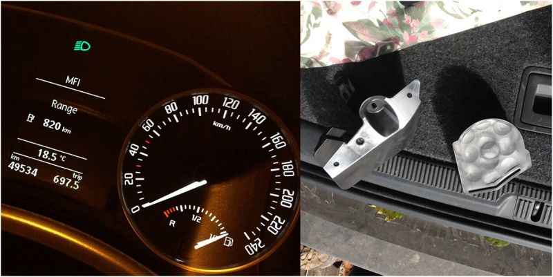 Skoda Octavia Scout: расход бензина